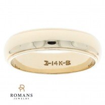 14K Yellow Gold Band 5mm