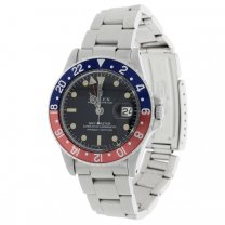 Rolex GMT-Master Watch Pepsi Reference 1675 Serial 1832457 Original Dial