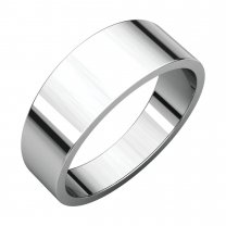 7 mm Flat Tapered Bands