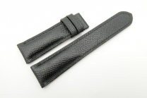 Watch Band Epsom Leather Black Hand Stiched