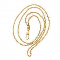 Yellow Gold Filled Pocket Watch Chain
