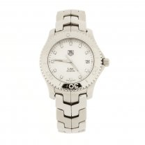 Tag Heuer Link Watch Stainless Steel Diamond Dial
