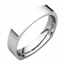 4 mm Square Comfort Fit Bands