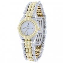 Chopard Geneve Watch GSTAAD Ladies 18K Yellow Gold and Stainless Steel Quartz