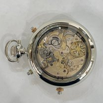 Quarter Hour Repeater Swiss Le Phare Pocket Watch 18 Jewels c.1890s