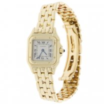 Cartier Panther Watch Quartz 18k Yellow Gold With Booklet