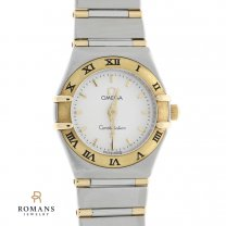 Omega Constellation 18K Stainless Steel Sapphire Crystal