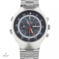 Omega Flightmaster Watch Stainless Steel Chronograph 145.026
