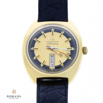 Hamilton Watch Self-Winding Men's Day Date Automatic Gold Plate Steel 825001-4