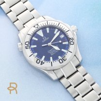 Omega Seamaster Watch Automatic Stainless Steel Mid Size 23 Jewel Cal. 1120