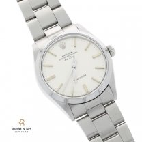 Rolex Air King Watch Mens Stainless Steel Ref. 5500 Oyster Bracelet
