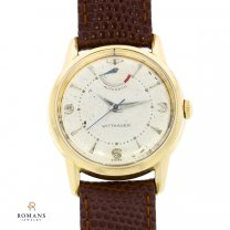 Wittnauer Automatic Wind Indicator Watch Mens 10K Gold Filled Caliber 11AIB